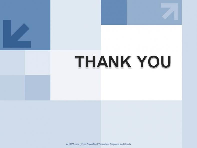 Powerpoint para presentacionesCuadrados azules y diseño de hileras