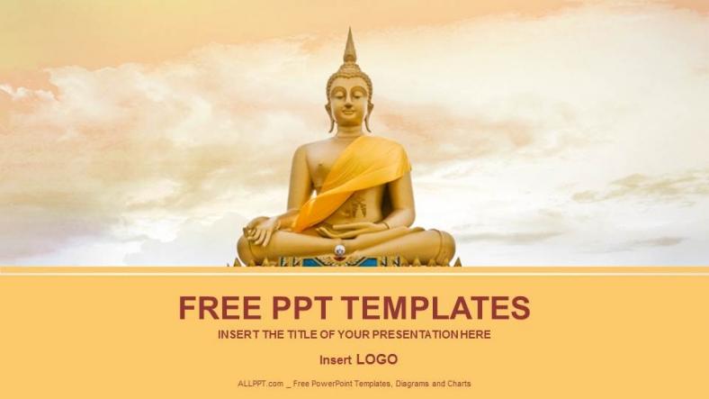 Powerpoint para presentacionesEstatua de Buda