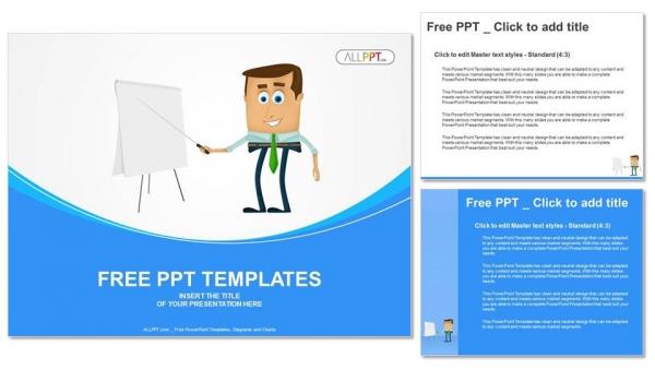 Presentaciones plantilla powerpointPresentación del hombre