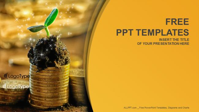 Presentaciones plantilla powerpointCrecimiento de capital