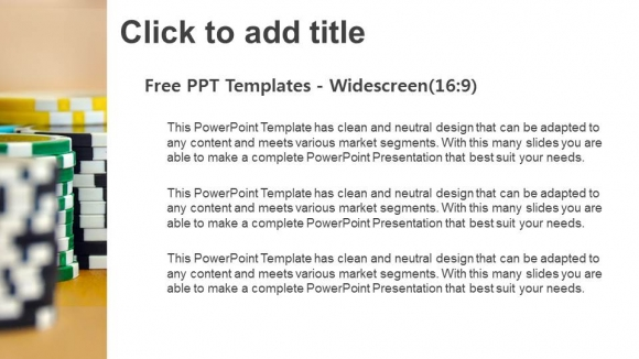 Powerpoint para presentacionesCasino tokens