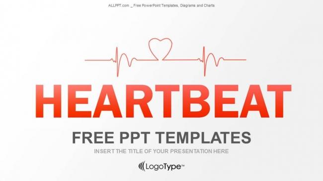 Descargar Presentaciones plantillas powerpointCómo trazar un latido cardíaco