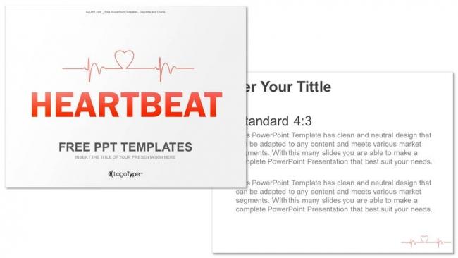 Powerpoint para presentacionesCómo trazar un latido cardíaco