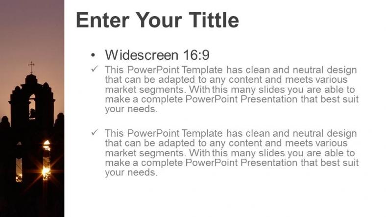 Diapositivas plantilla powerpointIglesia