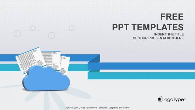 Powerpoint para presentacionesNubes y documentos