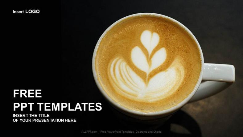Diapositivas plantilla powerpointSabor a café