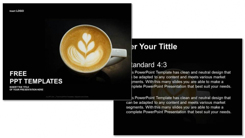 Powerpoint para presentacionesSabor a café