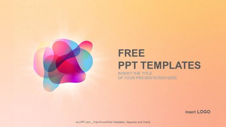 Powerpoint para presentacionesBurbujas de color