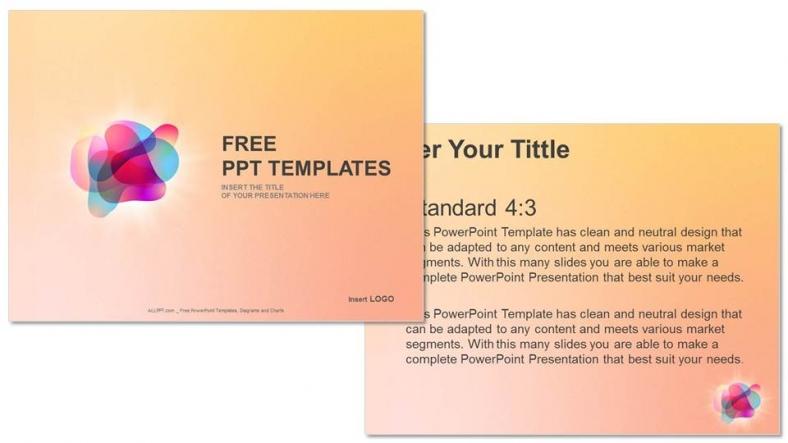 Diapositivas plantilla powerpointBurbujas de color