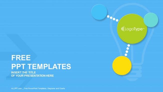 Descargar Presentaciones plantillas powerpointCírculos modernos y coloridos