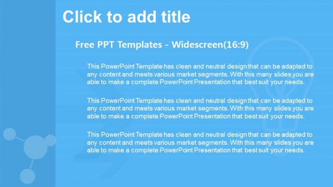 Presentaciones plantilla powerpointCírculos modernos y coloridos