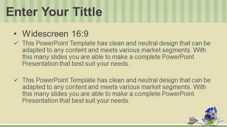 Diapositivas plantilla powerpointConcepto de construcción