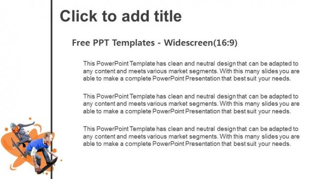 Powerpoint para presentacionesUn patinador genial.