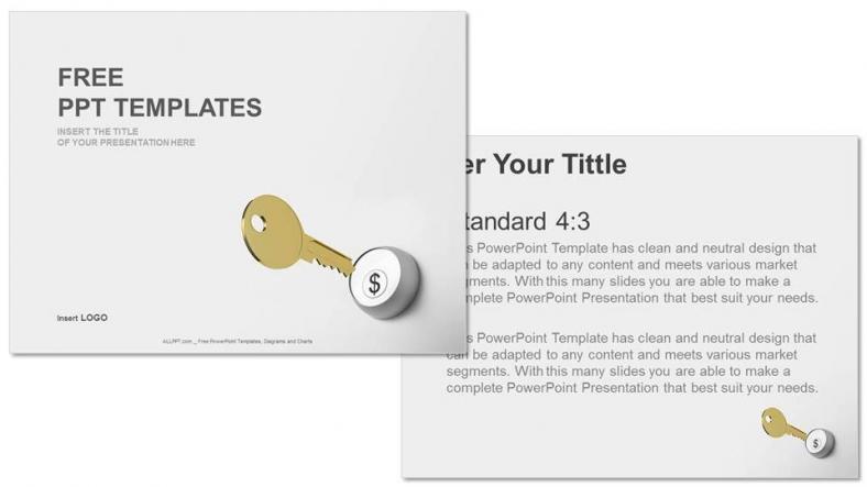 Powerpoint para presentacionesclave dólar
