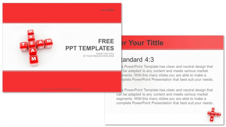 Diapositivas plantilla powerpointEquipo de ensueño