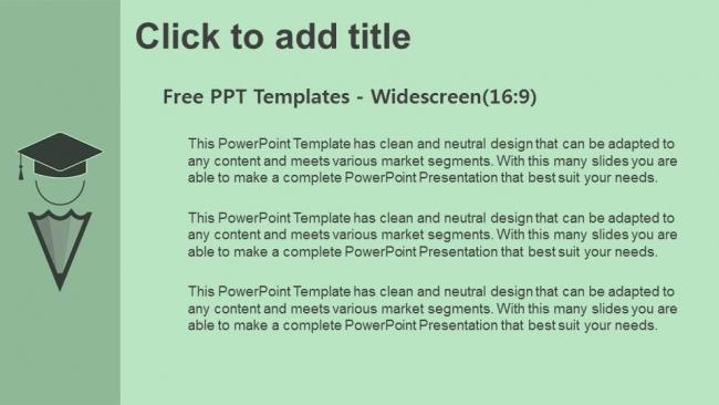 Descargar Presentaciones plantillas powerpointConcepto de educación