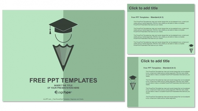 Presentaciones plantilla powerpointConcepto de educación
