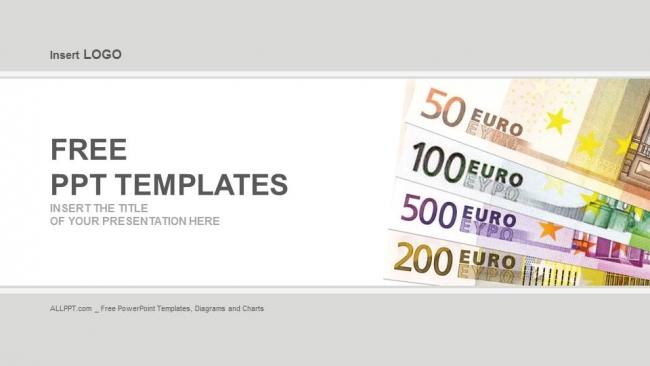 Descargar Presentaciones plantillas powerpointBilletes en euros