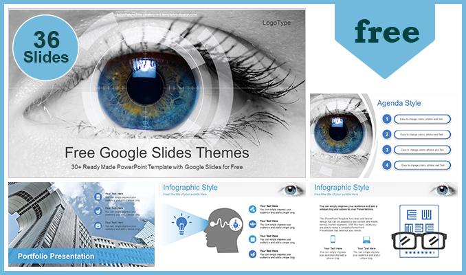 Powerpoint para presentacionesOftalmología de exploración ocular
