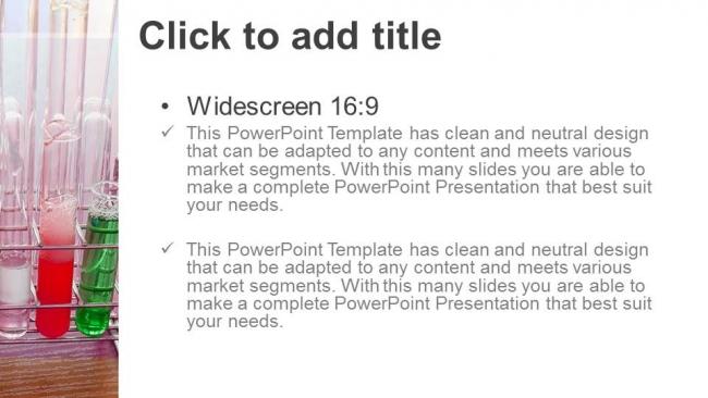 Diapositivas plantilla powerpointFrascos