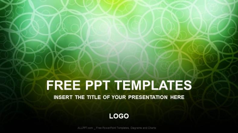 Presentaciones plantilla powerpointLibre Negro verde