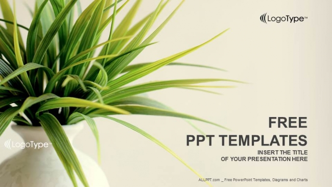Diapositivas plantilla powerpointPlanta Fresca