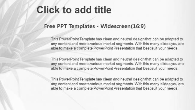 Descargar Presentaciones plantillas powerpointPlanta Fresca