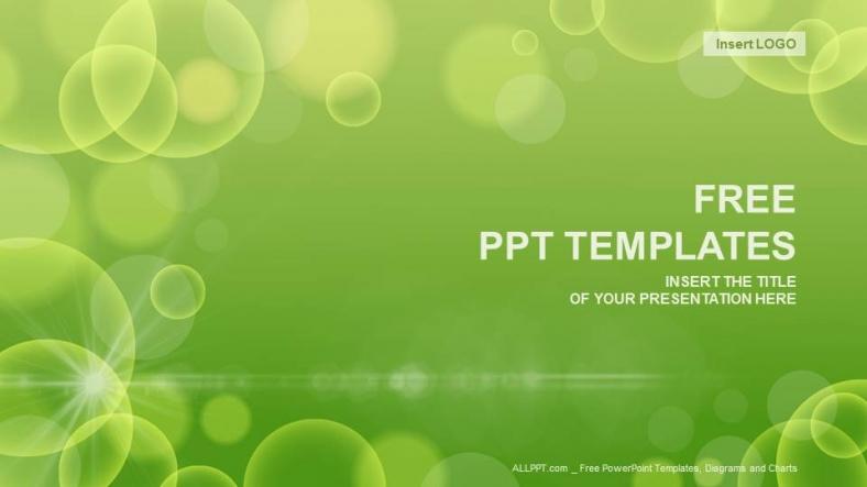 Powerpoint para presentacionesCírculo Verde