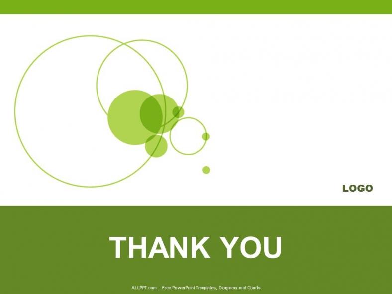 Powerpoint para presentacionesDiseño Green Circle