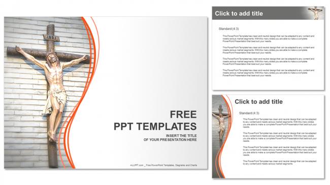 Diapositivas plantilla powerpointJesucristo