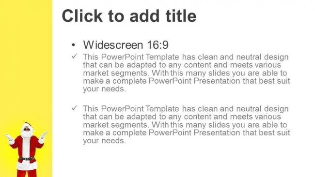 Presentaciones plantilla powerpointKris Kringle