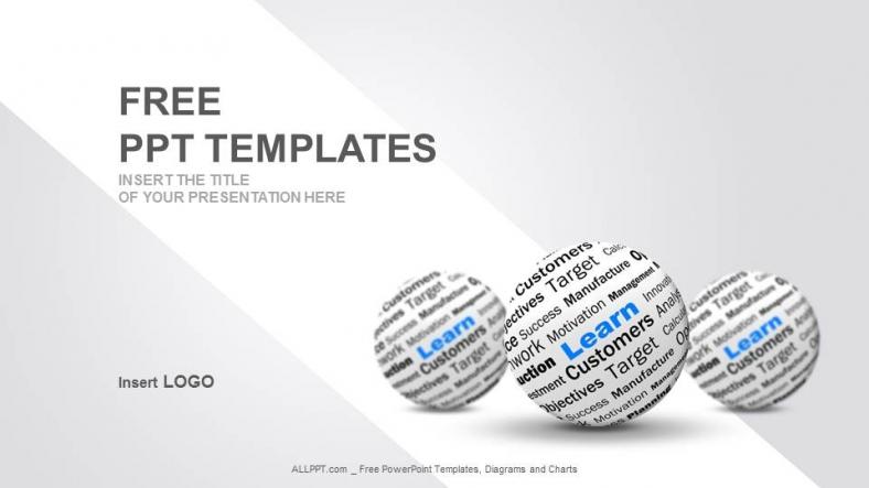 Diapositivas plantilla powerpointAprender Definición de Esfera