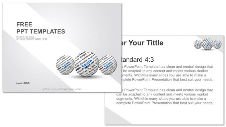 Powerpoint para presentacionesAprender Definición de Esfera