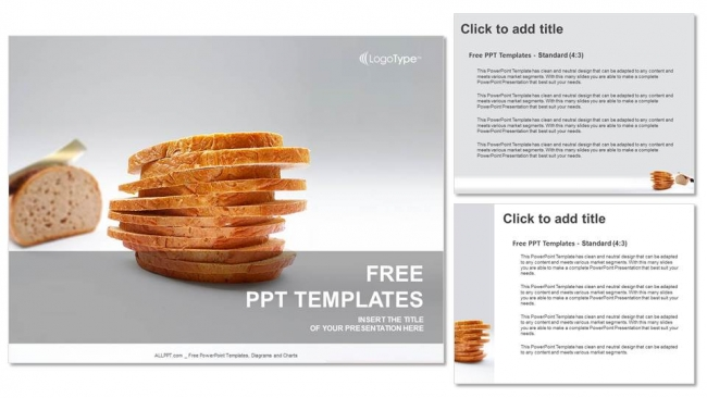 Diapositivas plantilla powerpointPan de molde