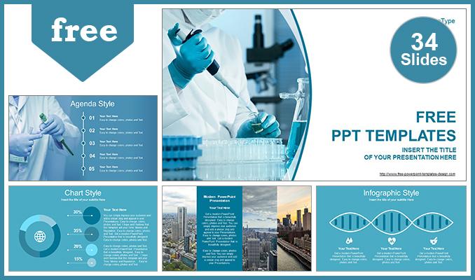 Presentaciones plantilla powerpointDesarrollo Médico
