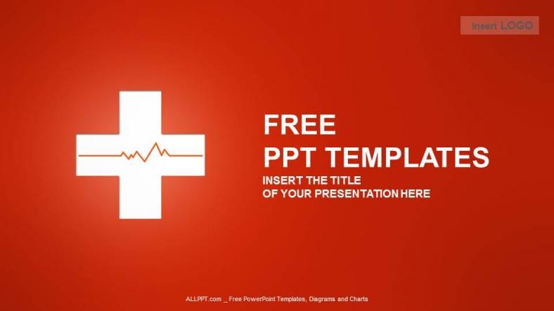 Powerpoint para presentaciones Símbolo médico