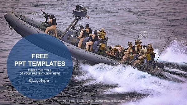 Descargar Presentaciones plantillas powerpointPatrullaje de barcos militares