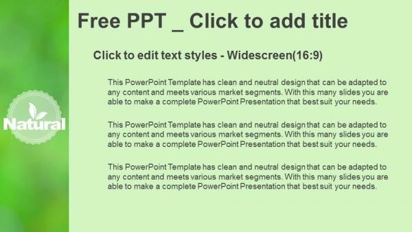 Descargar Presentaciones plantillas powerpointDiseño de logotipos de productos naturales