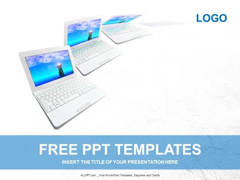 Diapositivas plantilla powerpointDiseño de portátiles