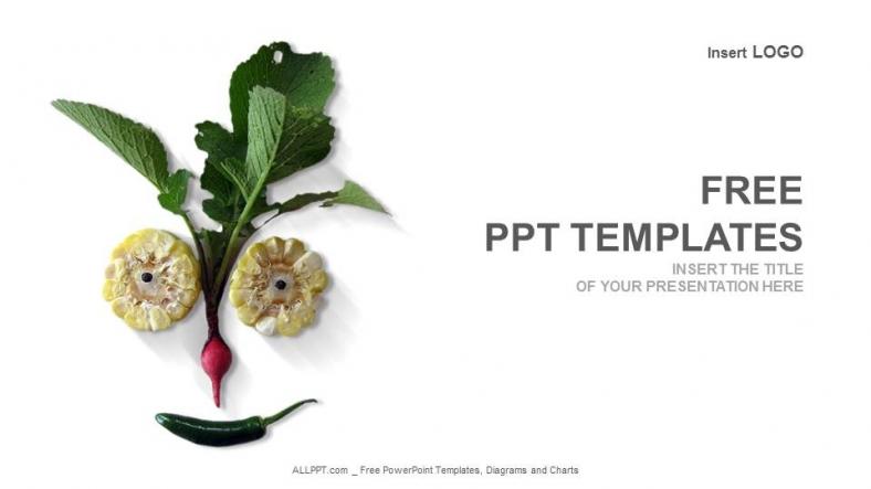 Presentaciones plantilla powerpointVerduras orgánicas