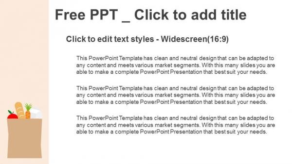 Presentaciones plantilla powerpointBolsa de papel con