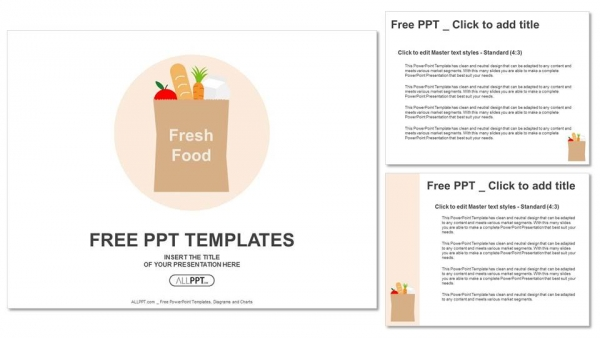 Descargar Presentaciones plantillas powerpointBolsa de papel con
