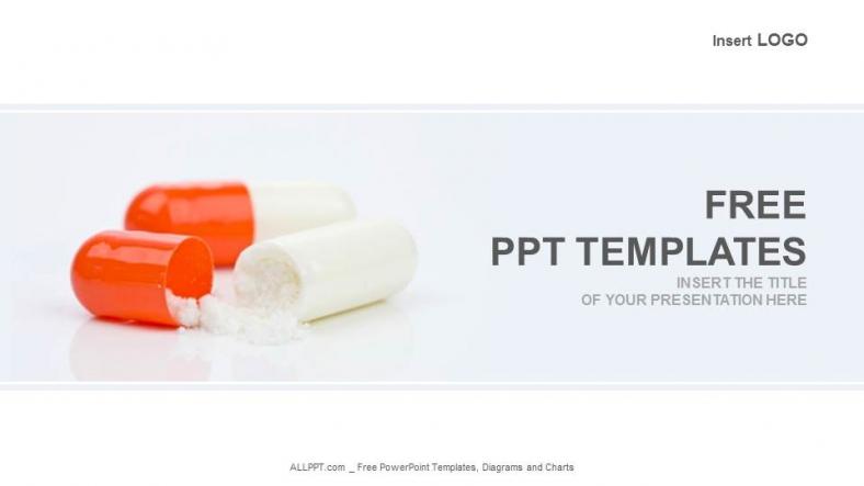 Powerpoint para presentacionesCápsulas farmacéuticas