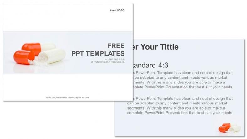 Presentaciones plantilla powerpointCápsulas farmacéuticas