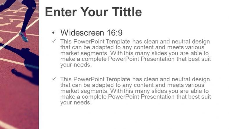 Diapositivas plantilla powerpointCorredor Profesional