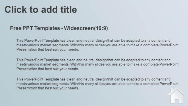 Diapositivas plantilla powerpointReal Estate Icon