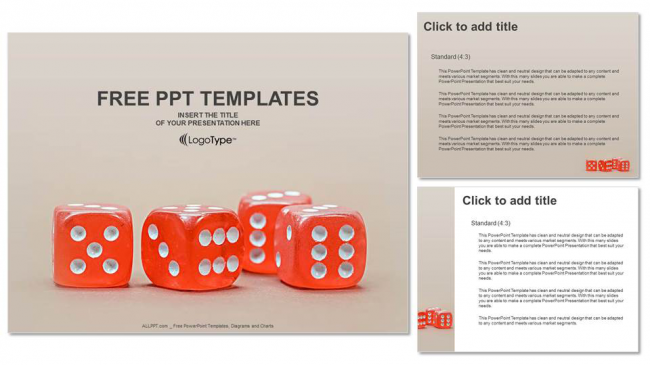 Diapositivas plantilla powerpointCubo Rojo