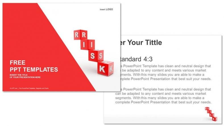 Presentaciones plantilla powerpointBloques de riesgo