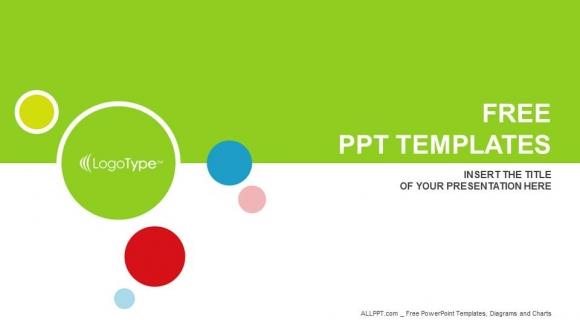 Plantilla Powerpoint: Conjunto de colores