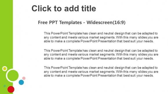 Presentaciones plantilla powerpointConjunto de colores